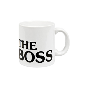 The Boss white - hrnek