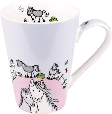 Globetrotter/Horse - hrnek - koně