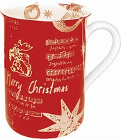 Merry Christmas - red - mug