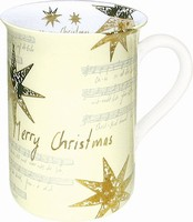 Merry Christmas - cream - mug