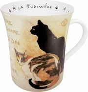 Les chats Steinlen yellow - mug