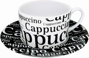 Writting on white - capuccino
