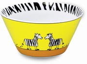 Zebra - cereal bowl