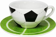 Football cappuccino set