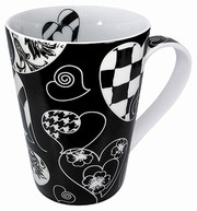 Escapada - Hearts - black - mug