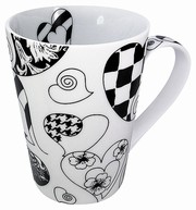 Escapada - Hearts - white - mug