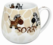 Crazy animals sorry - snuggle mug