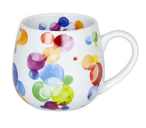 Snuggle mug Colourful Cast - Bubbles