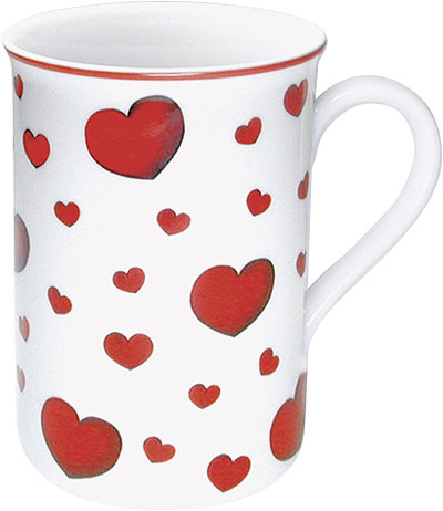 Little hearts - mug