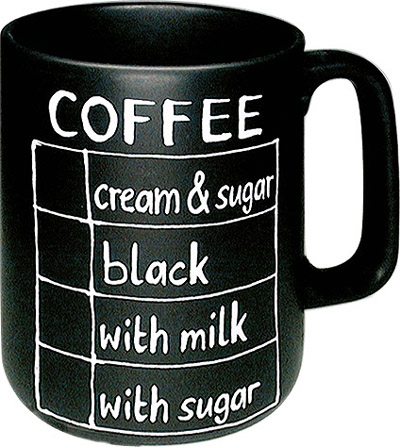 Coffee (English) - mug