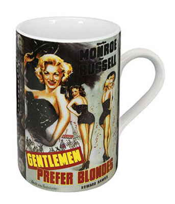 Gentemen prefer blondes - mug