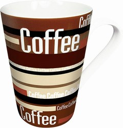 Coffee stripes - mug
