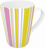 Polka stripes - mug