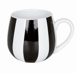 Snuggle mug Black and White - Stripes