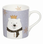 Mug Scarfed Animals - Polar Bear