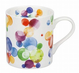 Colorful Cast Bubbles mug