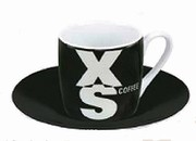 XS / on black - espresso